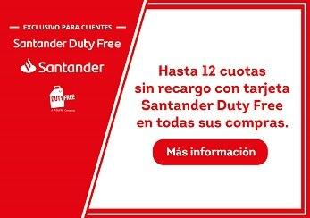 Cartão Santander Dufry